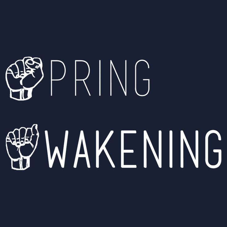 Spring Awakening Deaf West American Sign Language by Katherine Kaplan #SpringAwakening