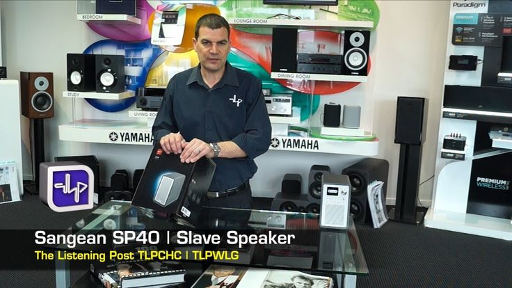 Sangean SP40 Slave Speaker + WFR70 | The Listening Post | TLPCHC TLPWLG