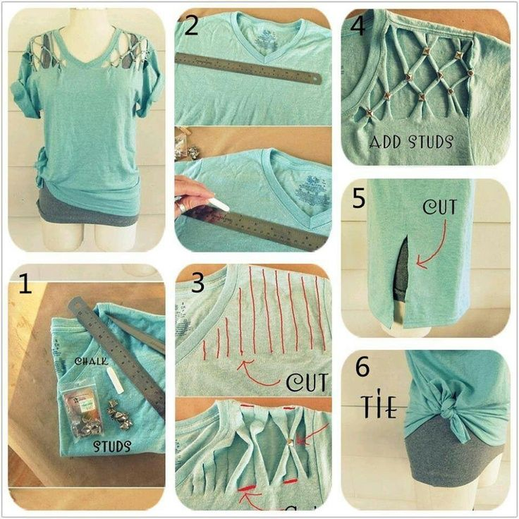 Repurpose tshirts shirt redo repurpose t shirts crafts to try pinterest on the side - Diy ideas repurposing old clothing ...