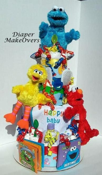 17 best images about baby shower sesame street on pinterest candy buffet cookies and cookie - Sesame street baby shower ...