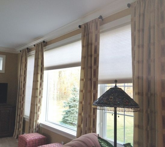 window coverings for large windows - Google Search
