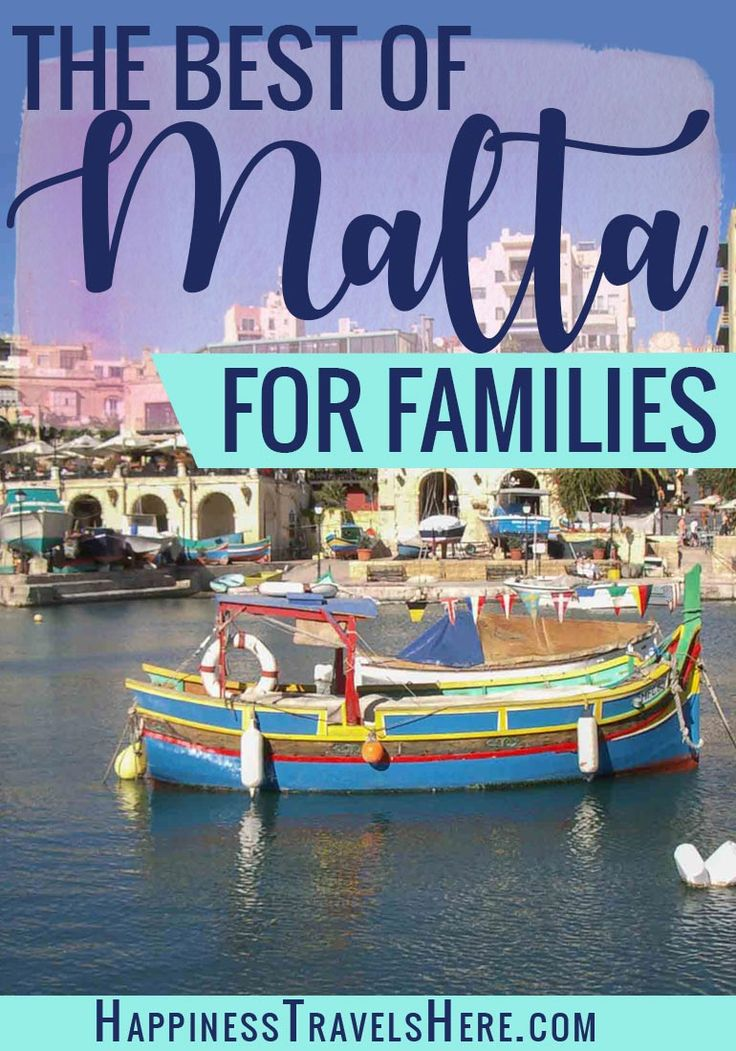 Check out this post for the best of Malta with families. The sunny Mediterranean Island is full of history, beaches, boating, good food and friendly locals it is the perfect year round European destination with kids. #Travel #Europe #Familytravel