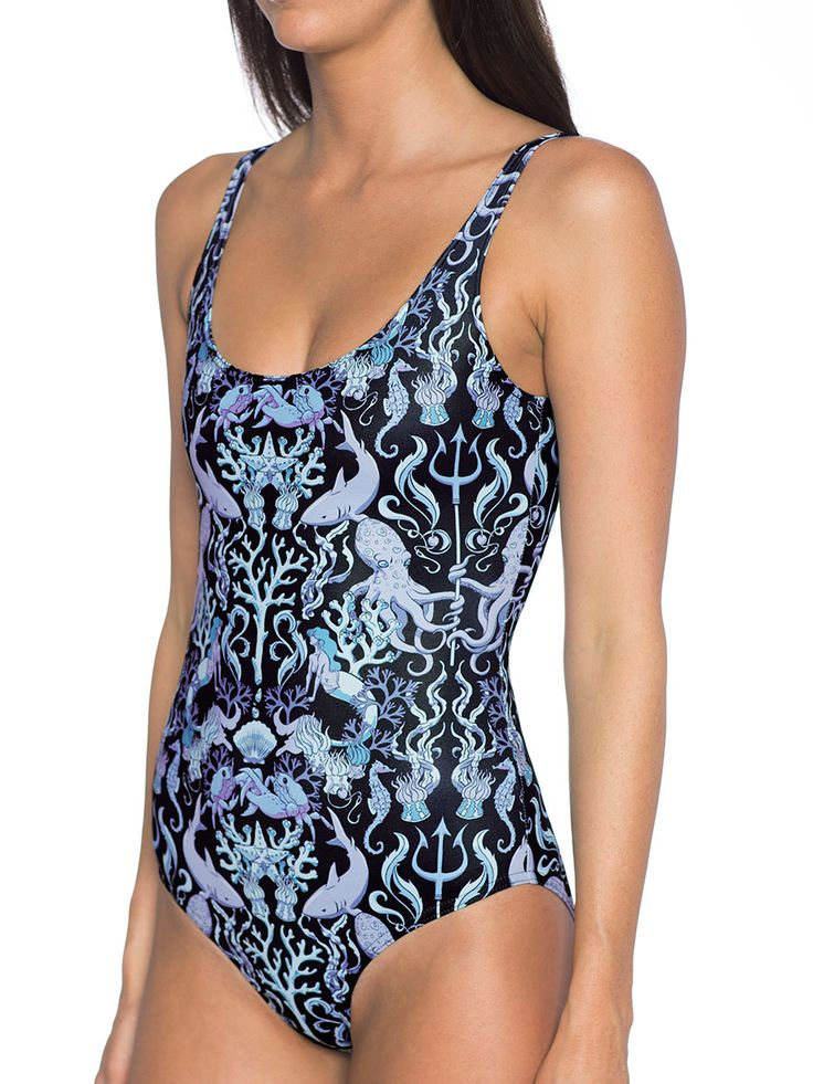 Take the Bait Swimsuit - 48HR (AU $90AUD) by Black Milk Clothing