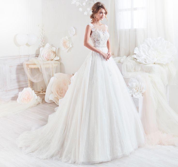 Moda sposa 2018 - Collezione COLET.  COAB18303. Abito da sposa Nicole.