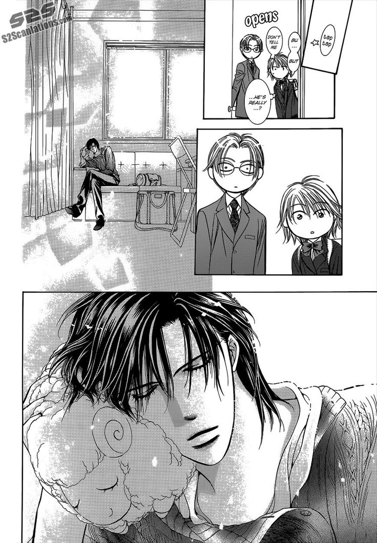 Skip Beat side story... we find out what Kyoko gave Ren for his birthday, finally. XD SO KAWAII