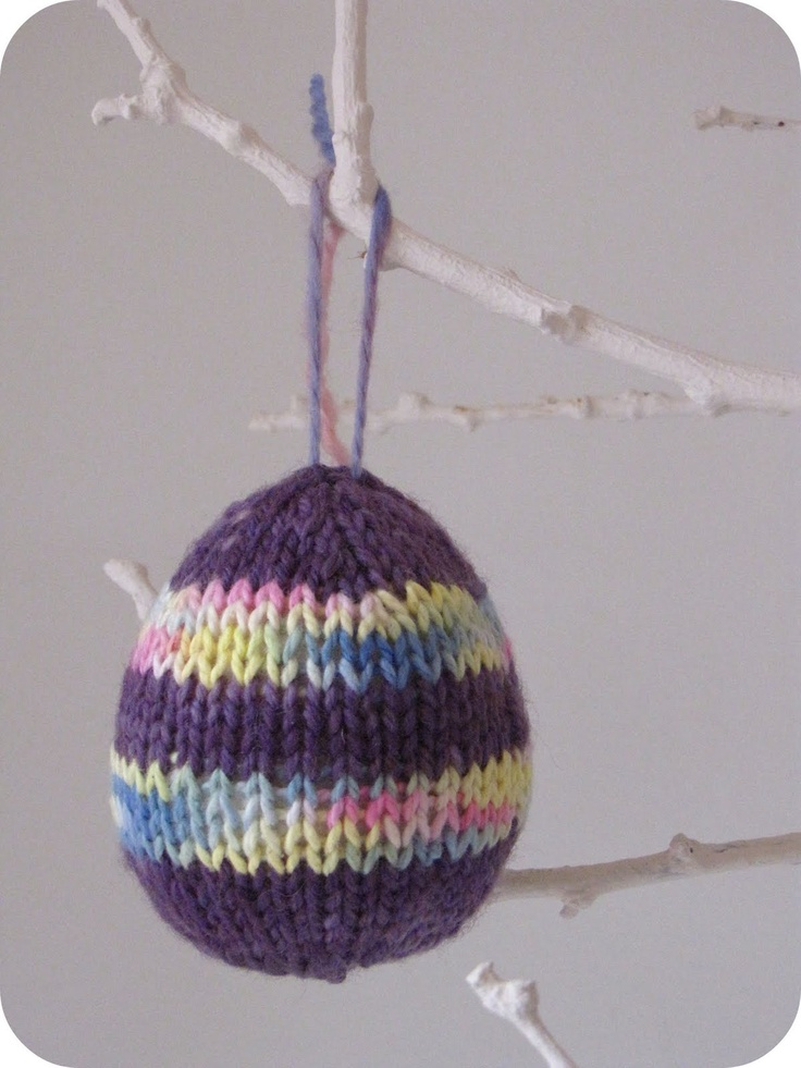 14 best easter knitted eggs images on pinterest knit patterns knitted easter egg tutorial the prettiest knit easter egg patterns negle Gallery