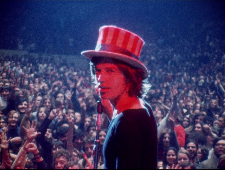 gimme shelter ~~ so disturbing. i'm not a big rolling stones fan, but this has always been one of my favorite documentaries.