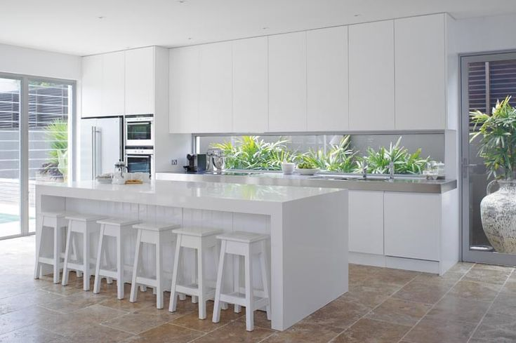 Clean and simple - just the way a kitchen should be. As seen in Modern Home www.modernhomemagazine.com.au