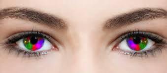 Resultado de imagen para imagenes de lentes de contacto de color