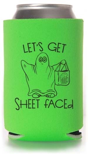 TPC-2183 - Customizable Holiday & Festival/Picnic Can Coolers #koozies #halloween