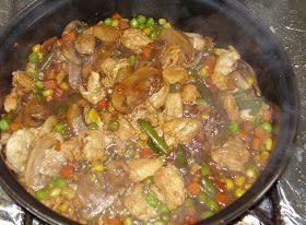 Foodhedonist: Chinese Mushroom Chicken Recipe