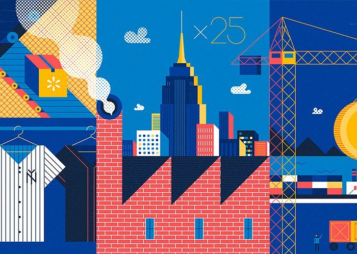 Illustrations by Stephen Kelleher | Inspiration Grid | Design Inspiration