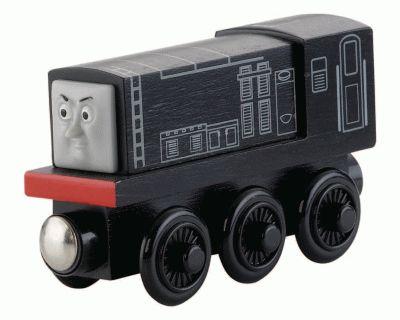 Thomas de Trein Hout - Diesel 10 - Speelgoed - Treinen - Collectie - Thomas de Trein Hout - Locomotieven - Mattel - Y4079