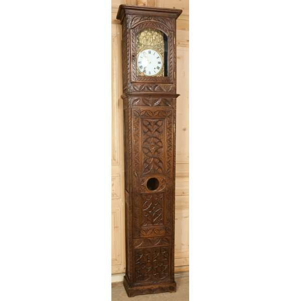 Vintage long case clocks