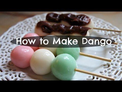 How to Make Dango - Andango & Hanami Recipe - YouTube