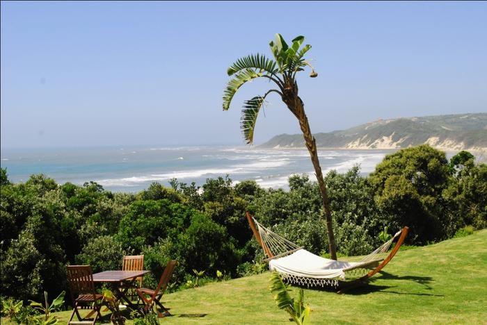Crawford's Beach Lodge in Cinsta, Oos-Kaap. Kyk net daai uitsig!