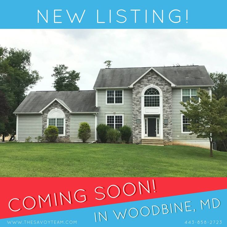 We've got another new listing coming on the market in Woodbine! It will be priced well under $600k and has 4 bedrooms, 2.5 baths, a 2.21 acre lot and a side-load 3 car garage! Howard County schools! It's being painted and getting new carpet, but if you'd like details sooner...get in touch with us ASAP!