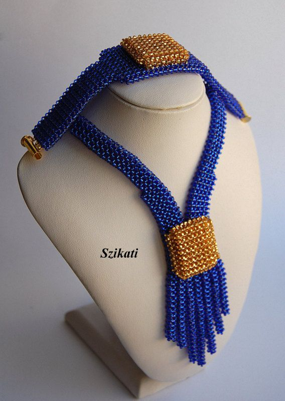 Reserved for UnicasByBonike  Elegant Royal Blue and by Szikati