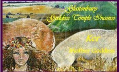 Goddess temple incense for ker