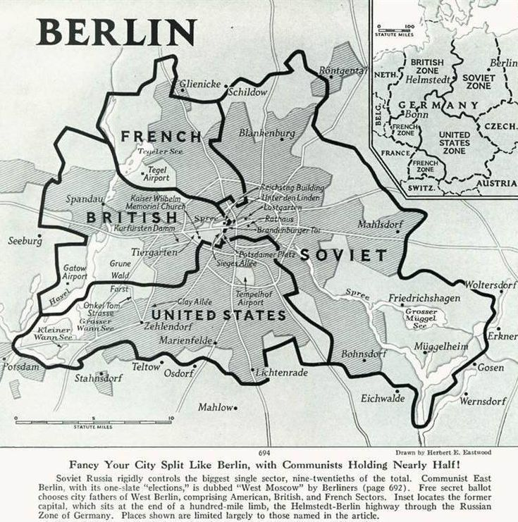 Fancy Your City Split Like Berlin, with Communists Holding Nearly Half!