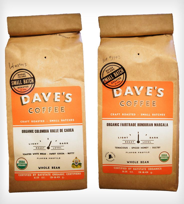 Organic Coffee Beans 2-Pack - Honduran & Colombian
