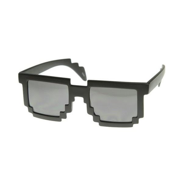 Pikselowe okulary / 8-git glasses.