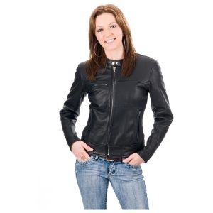 best fashion style for an hour glass figure | Fashion Tips On Leather Jackets For Women - Fashionable Leather ...