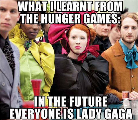 What I learned from the Hunger Games. I learned other things but this is one