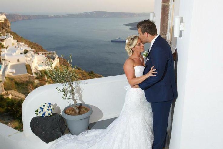 Dana villas santorini wedding