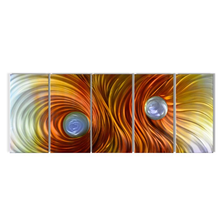 fire stormu0027 extra large metal wall art