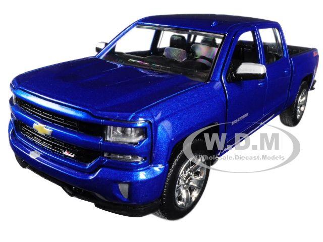 Buy Cheap 2017 Chevrolet Silverado 1500 Lt Z71 Crew Cab Blue 1 27