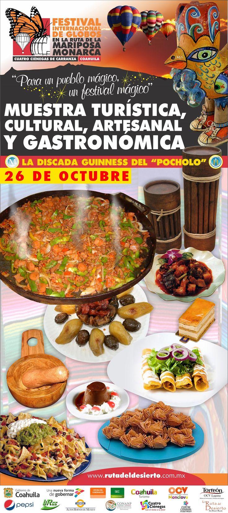 Muestra Turística, Cultural, Artesanal y Gastronómica- 26 Octubre CuatroCiénegas 4Ciénegas Coahuila -- Monclova - Saltillo - Monterrey - Turismo - México - Travel