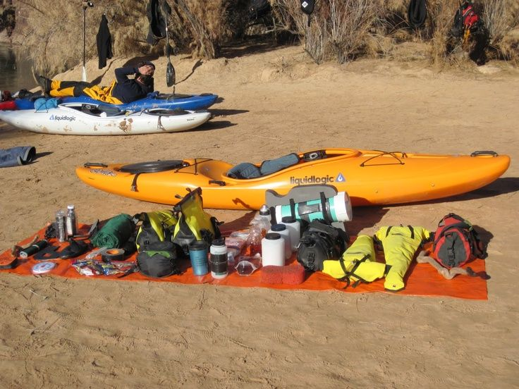EXCELLENT Site on kayak camping!
