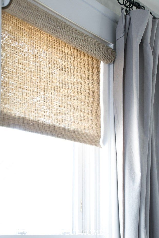 Woven Roller Shades The Perfect Window Covering Diy Window