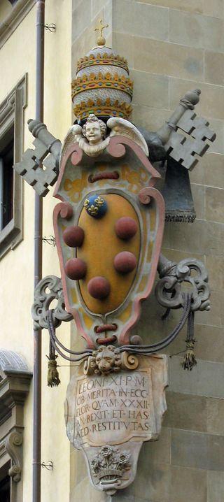 Medici crest, Firenze