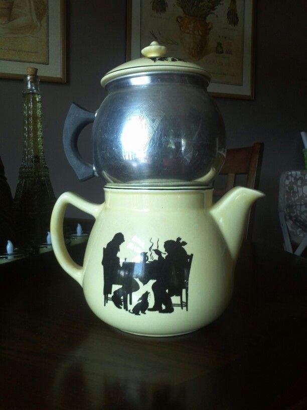 Crooksville Silhouette Coffee Pot