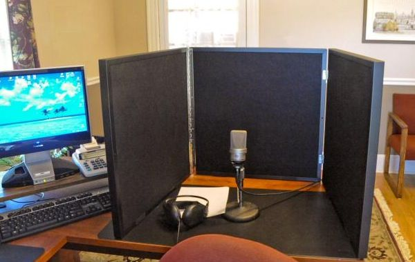portable vocal recording booth    RealTraps, with fabric color options of black, white, wheat, and gray. The metal frame portion is black only.