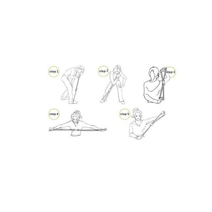 11 pc esercizio fasce di resistenza del lattice idoneità serie cinghia elastica