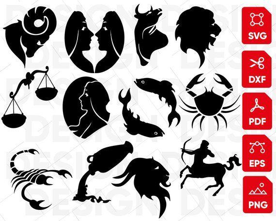 Horoscope Svg Zodiac Svg Astrology Svg Zodiac Sign Bundle Etsy In 2021 Zodiac Zodiac Signs Svg