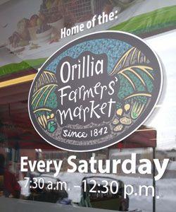 Orillia Farmers' Market Logo