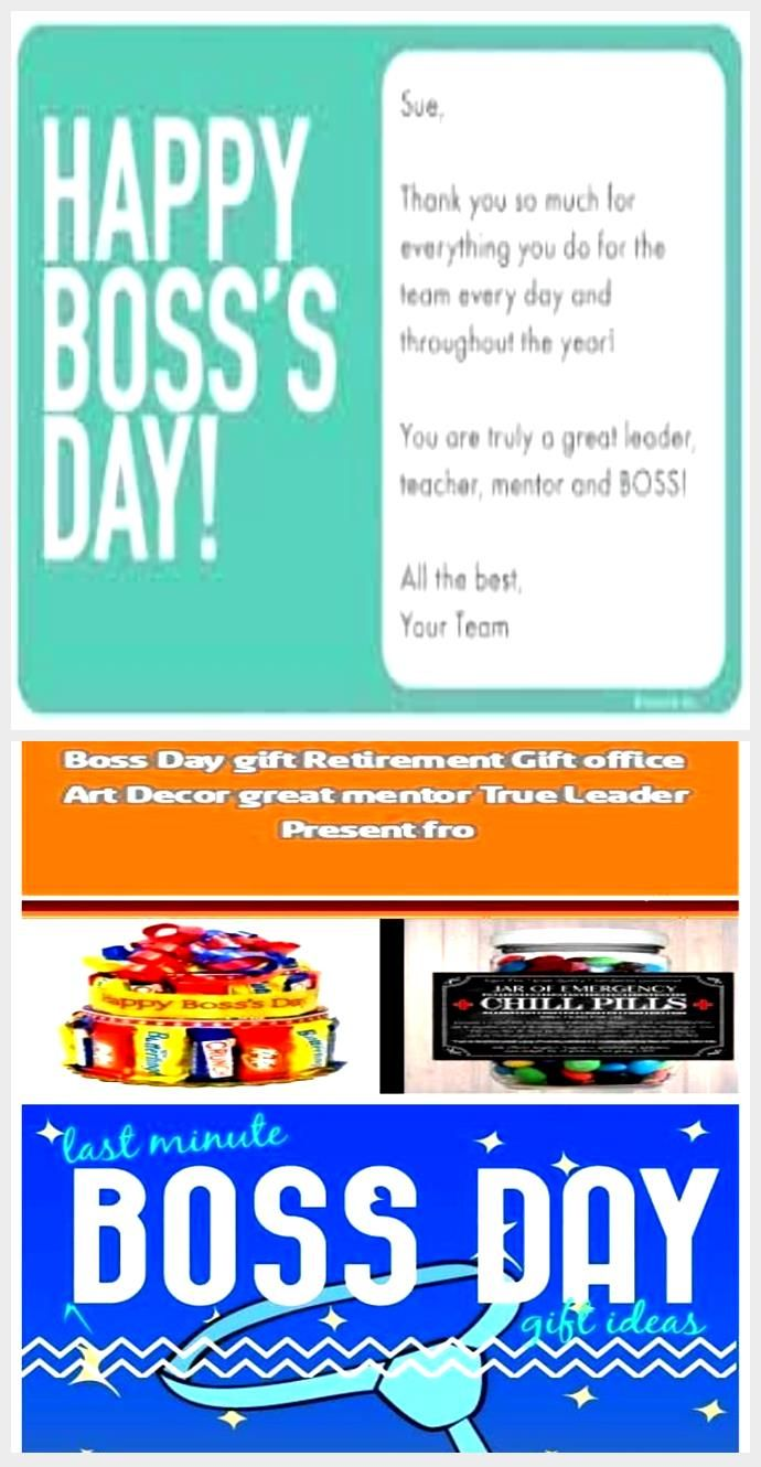 Creative Boss S Day Gift Ideas