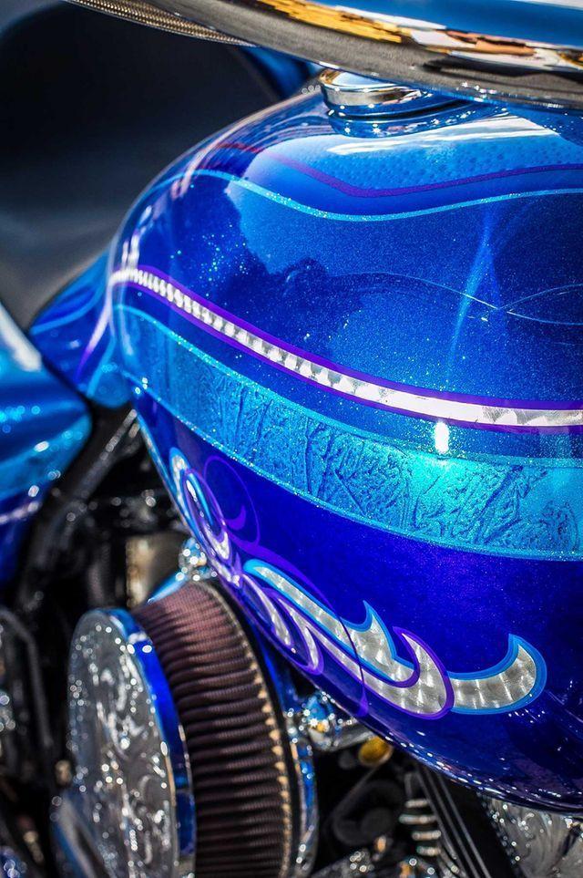 2014 Harley-Davidson Road King - Show Winner #harleydavidsonroadkingart #harleydavidsonroadkingbobber