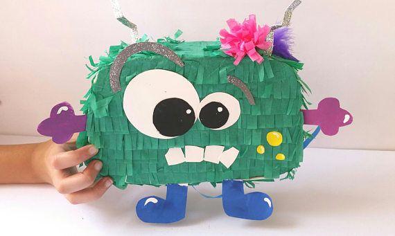 Piñata Mini monstruo