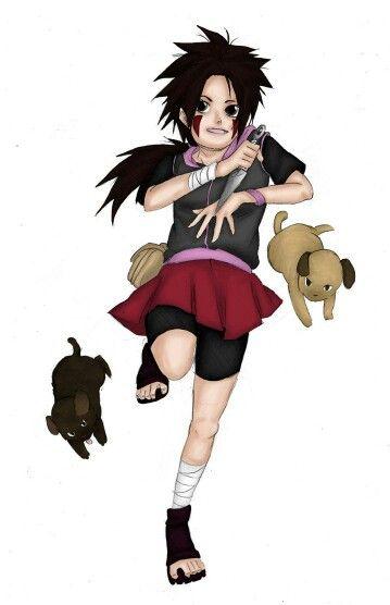 The daughter of Shino and Hana: Ayaka Aburame