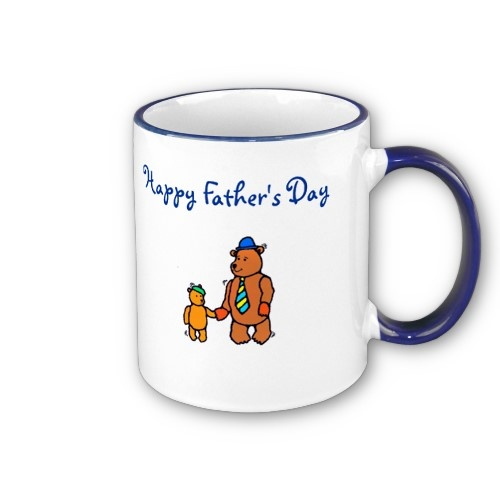 happy father's day writing
