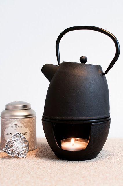 Teekanne Gusseisen, Nicolas Vahe, Tafelgut Tee, Tee trinken, gemütlich