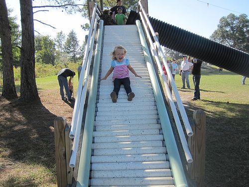 Awesome homemade pipe slide | Flickr - Photo Sharing!
