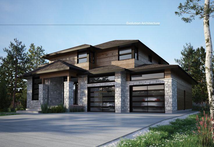 #Architecture #maison #contemporaine #création exclusive E-969 #moderne #design#concept