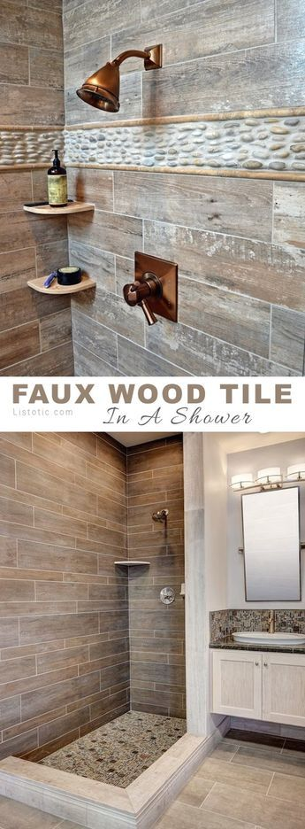 11 Stunning Tile Ideas For Your Home (Decor Ideas). Wood Tile ShowerShower  Ideas Bathroom ... Part 92