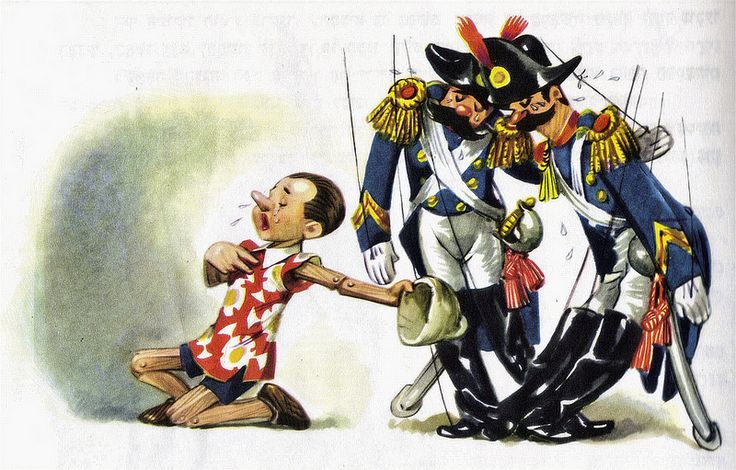 Pinnochio - illustrated by Libico Maraja (19) | Flickr - Photo Sharing!